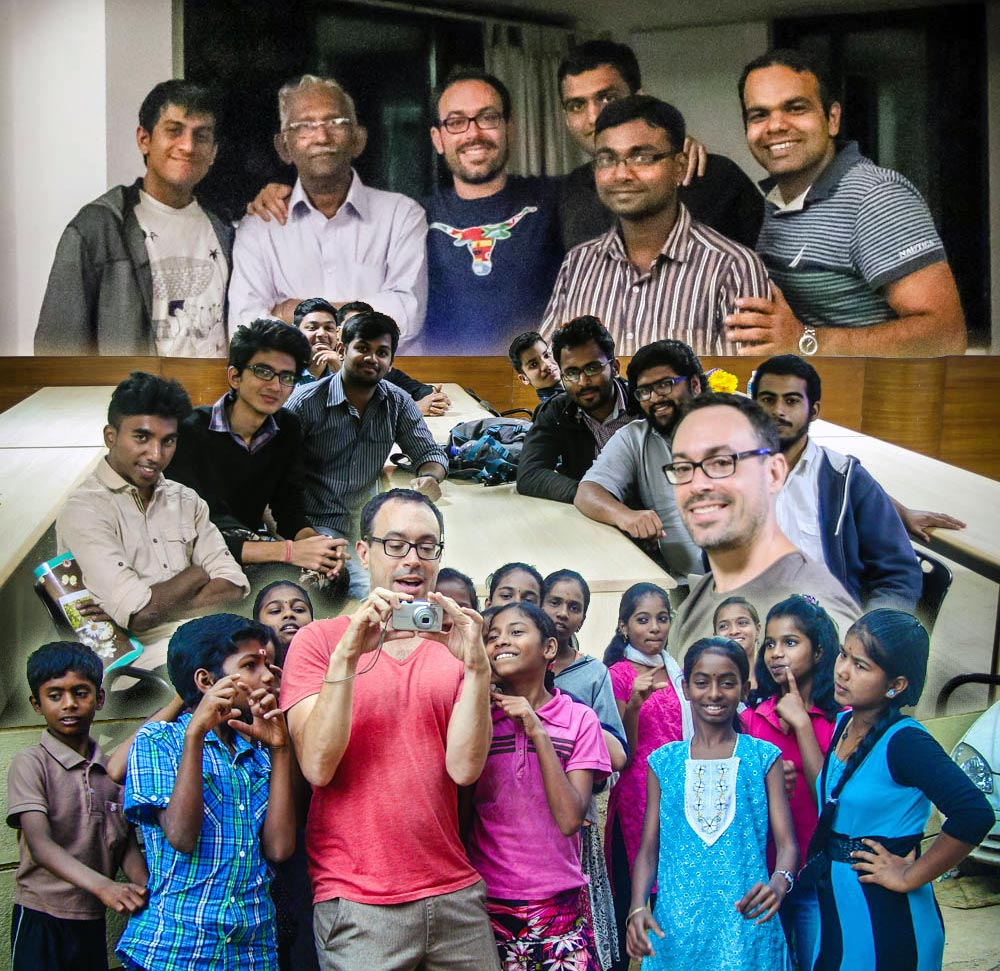 Groups of participants from our three workshops in Bangalore (top to bottom), Jaaga Startup, CMS Jain University, and Ashwini Charitable Trust.